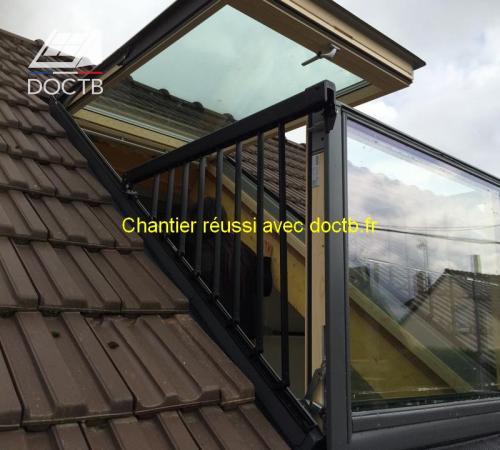 fen tre de toit velux doctb. Black Bedroom Furniture Sets. Home Design Ideas