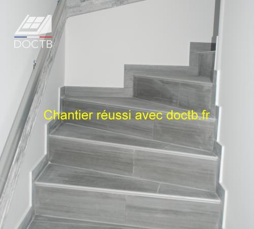 cr ation d 39 un escalier lumineux doctb. Black Bedroom Furniture Sets. Home Design Ideas